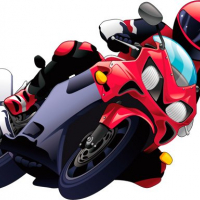 Cartoon Motorcycles Puzzle