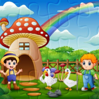 Farm Animal Jigsaw