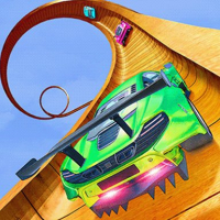 Mega Ramp Car Stunt Racing Mania