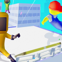 Parkour Run - Race 3D